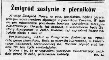Zmigrodzkie piernikiNRz63z12.03.63s.4