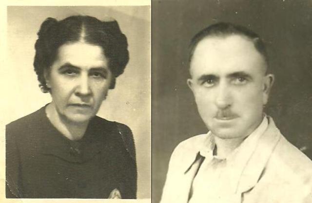 Katarzyna i Marian Barthowie