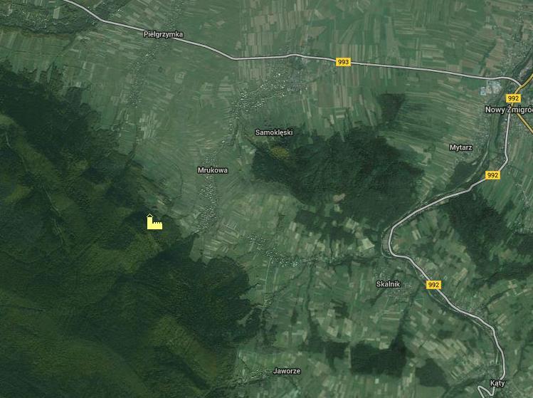 Mapa zamek